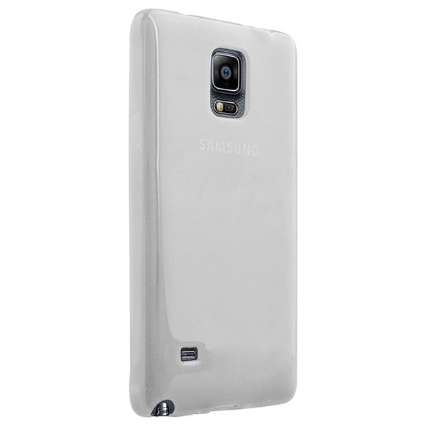 INSTEN Colorful Frost Clear TPU Cover Case For Samsung Galaxy Note 4 SM-N910