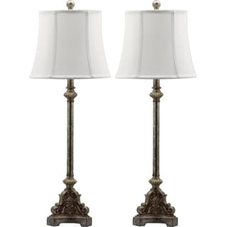 Safavieh Lighting 33.5-inch Rimini Console Antiqued Table Lamp (Set of 2)
