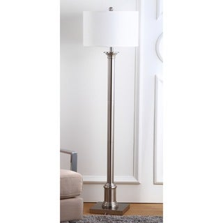 Safavieh Lighting 60-inch Livia Nickel Floor Lamp