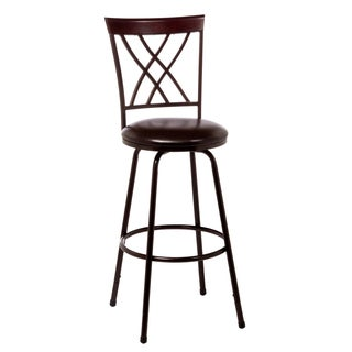 Northland Swivel Counter/ Bar Stool with Nested Legs