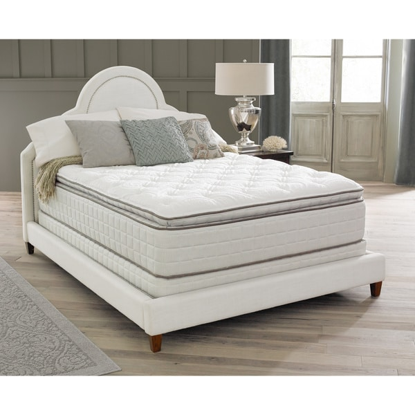 Spring air backsupporter sadie pillow top king size for Best king size mattress reviews