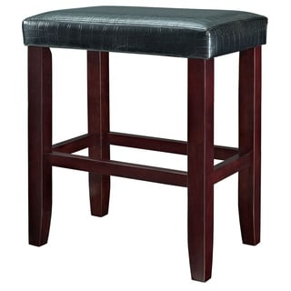 Powell Croc Faux Leather Bar Stool (Set of 2)