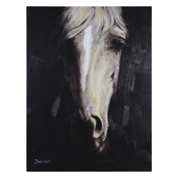 Daya Kohli Sir Edward II Canvas Artwork