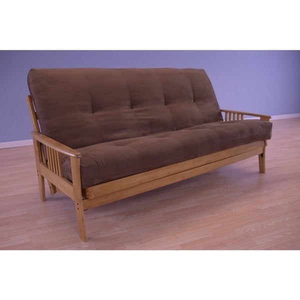 Christopher Knight Home Capri Butternut/Suede Mattress Futon