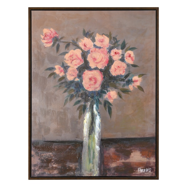 Pierrick Paradis Land of Rose Canvas Artwork