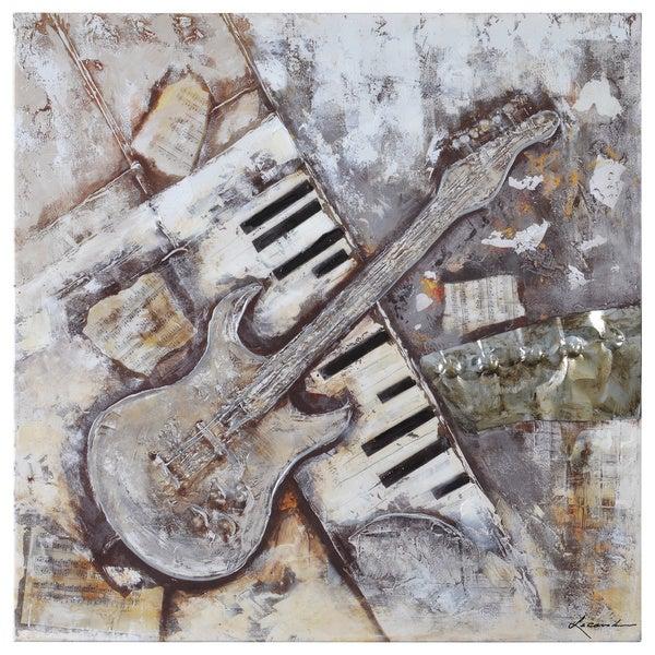 Dominic Lecavalier Jitterbug II Canvas Art