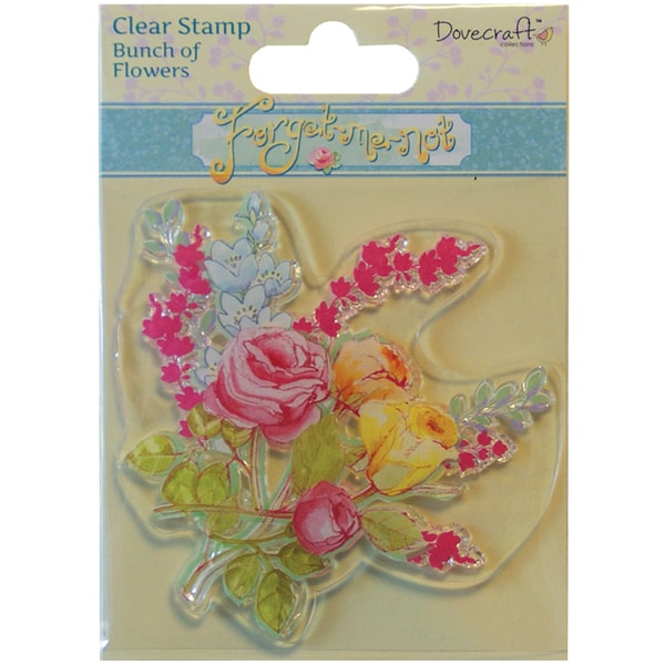 Forget-Me-Not Clear Stamp-Bunch Of Flowers