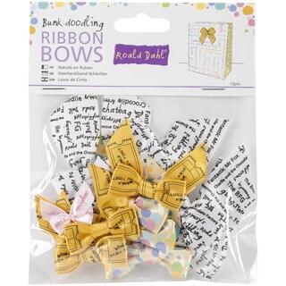 Roald Dahl Ribbon Bows 12/Pkg-Bunk-Doodling
