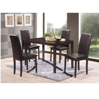 Baxton Studio Fallabella Modern Wood Dining Chair (Set of 2)