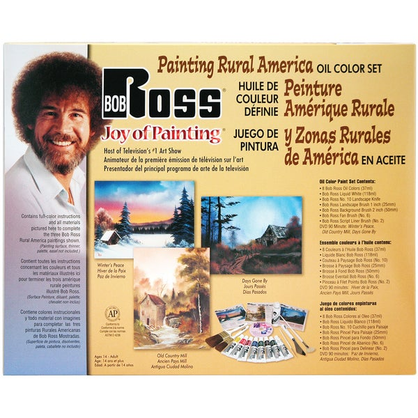 Bob Ross Painting Rural America W/DVD
