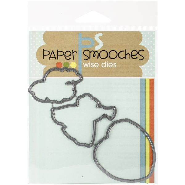 Paper Smooches Die-Blessed Icons