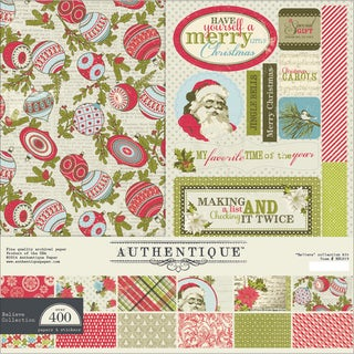 "Authentique Collection Kit 12""X12""-Believe"