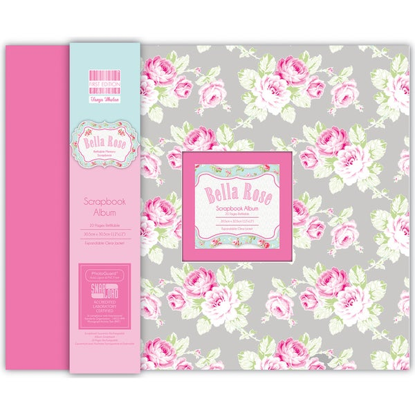 "Snap Load Album 12""X12""-Bella Rose"