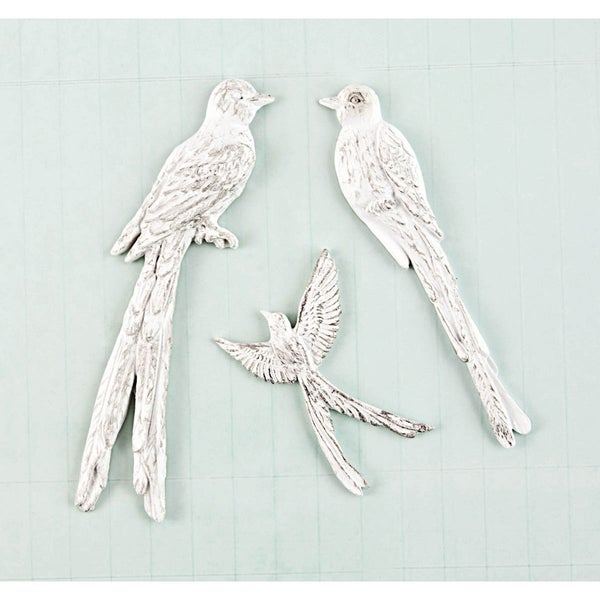Shabby Chic Treasures Resin-Birds