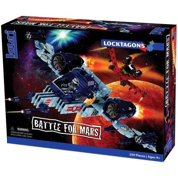Locktagons Set 250pc-Battle For Mars