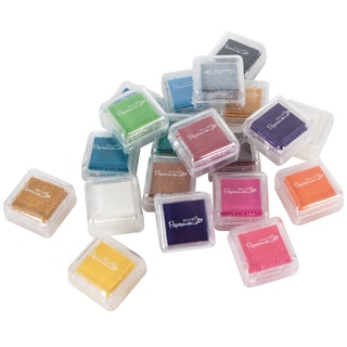 Papermania Mini Dye Ink Pads 20/Pkg-Assorted Colors
