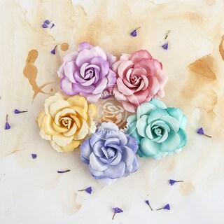 "Del Mar Paper Flowers -Arabian 2.25"", 5/Pkg"