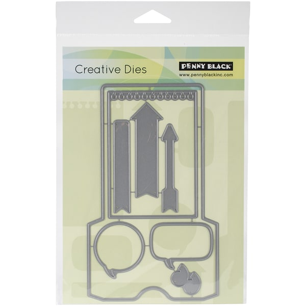 Penny Black Creative Dies-A Pocket Full