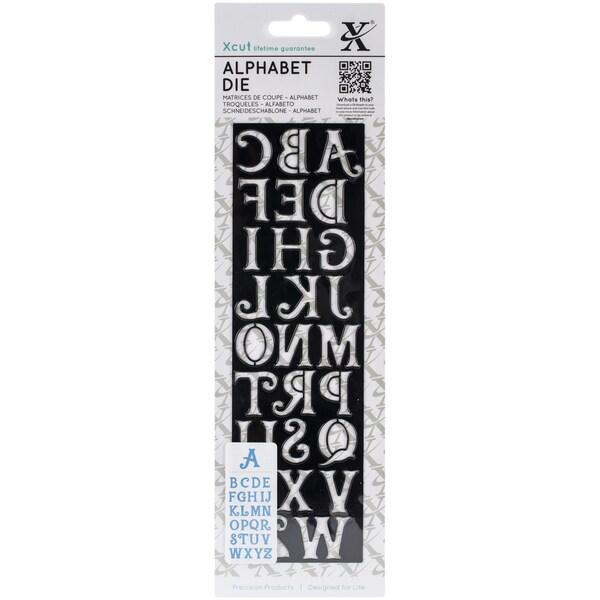 """Xcut Alphabet Die 2.5""""X8.5""""-Alice"""