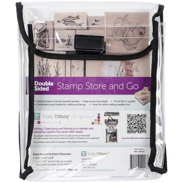 "Stamp, Store & Go Bag Double-Sided-9""X11.5""X2"""