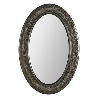 Jane Gun Metal Color Glass Mirror