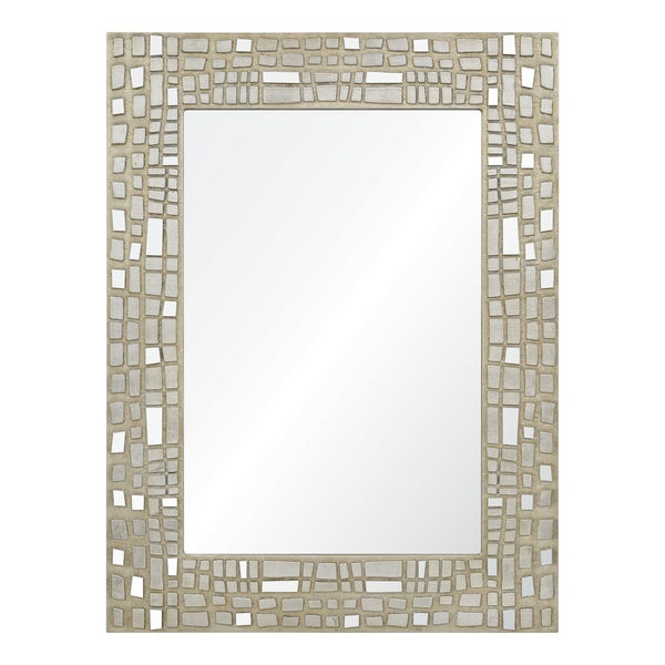 Duchamp Silver Leaf Mirror