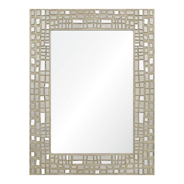 Duchamp Silver Leaf Mirror
