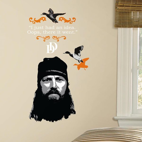 Duck Dynasty Jase Peel and Stick Giant Wall Decals 14150517