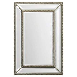 Mia Antique Silver Mirror