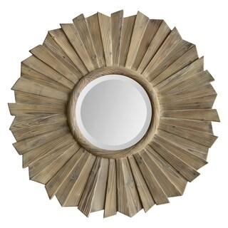 Kendra Washed Wood Mirror