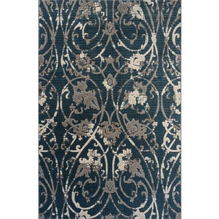 Christopher Knight Home Oracle Narcissa Blue Area Rug (7'10 x 10'10)