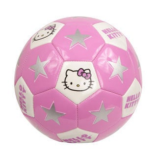 Hello Kitty Pink Size 4 Soccer Ball