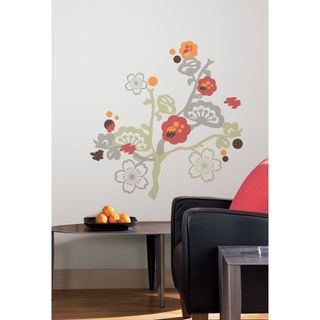 Garden of Paradise Peel & Stick Giant Wall Decals