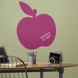 Chalk Apple Peel & Stick Giant Wall Decals