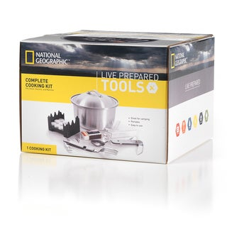 National Geographic Live Prepared Complete Cooking Kit