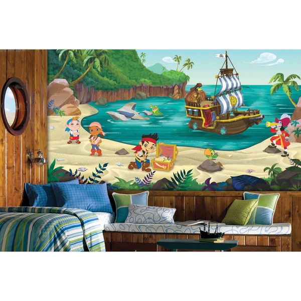 Jake And The Never Land Pirates XL Chair Rail Prepasted