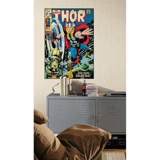 Comic Book Cover - Thor Peel & Stick Comic Book Cover