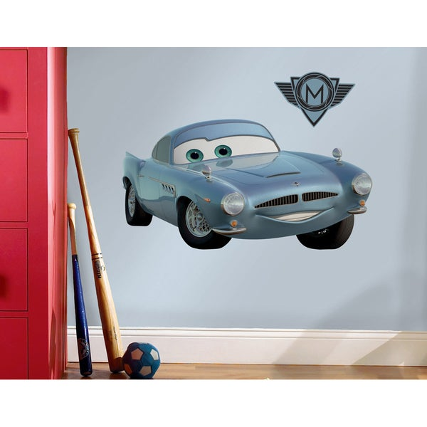 Cars 2 Finn McMissle Peel & Stick Giant Wall Decal