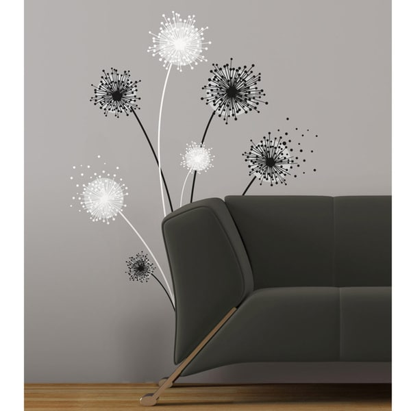 Dandelion Peel & Stick Giant Wall Decal 14150908