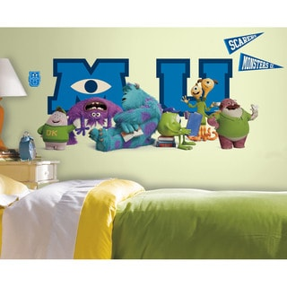 Monsters University Giant Character Collage Peel & Stick Wall Decals