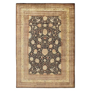 Hand-knotted Mansion Size New Zealand Wool Tabriz Rug (17' x 24')