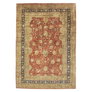 Hand-knotted Mansion Size Tabriz New Zealand Wool Rug (17' x 24')