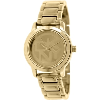 DKNY Women's Tompkins NY8877 Rose Goldtone Stainless Steel Analog Quartz Watch with Rose Gold Dial