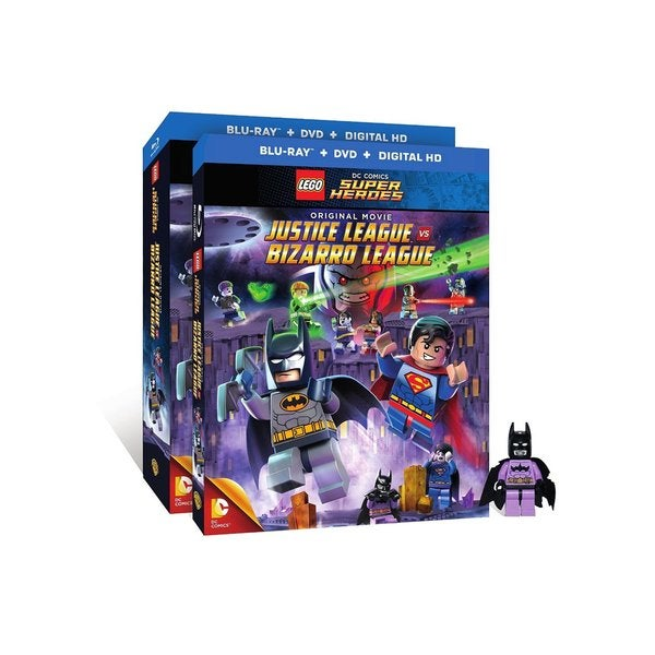 Super Heroes: Justice League vs. Bizarro League (Blu-ray/DVD) 14151257