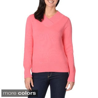 Pierri Women's V-neck Sweater