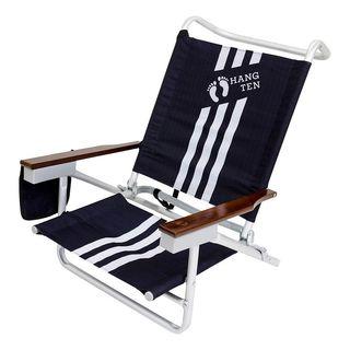 Hang Ten Siesta 5-Position Beach Chair