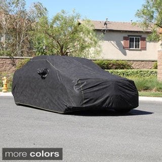 XtremeCoverPro 100 Percent Breathable Car Cover with Mirror Pockets for 2014+ Honda Civic Coupe