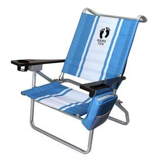 Hang Ten Island 5 Position Beach Chair