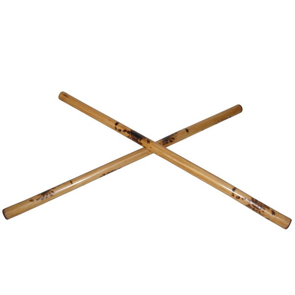 Filipino Eskrima 24-inch Burned Rattan Sticks (Set of 2)