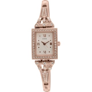 Guess Women's U0430L3 Rose Goldtone Stainless Steel Quartz Watch with Beige Dial